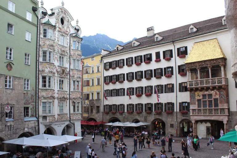 Innsbruck Wahrzeichen: das goledene Dachl