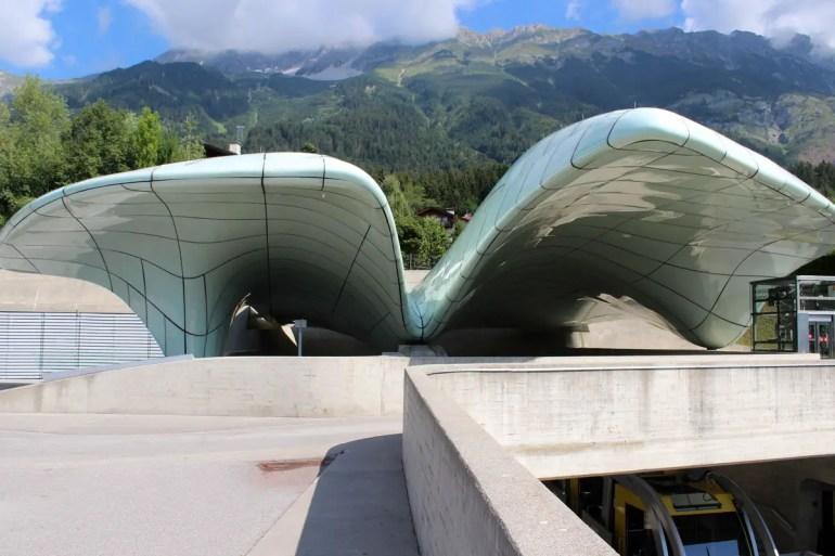 Ein Hingucker: die von Zaha Hadid gestaltete Bergstation der Hungerburgbahn