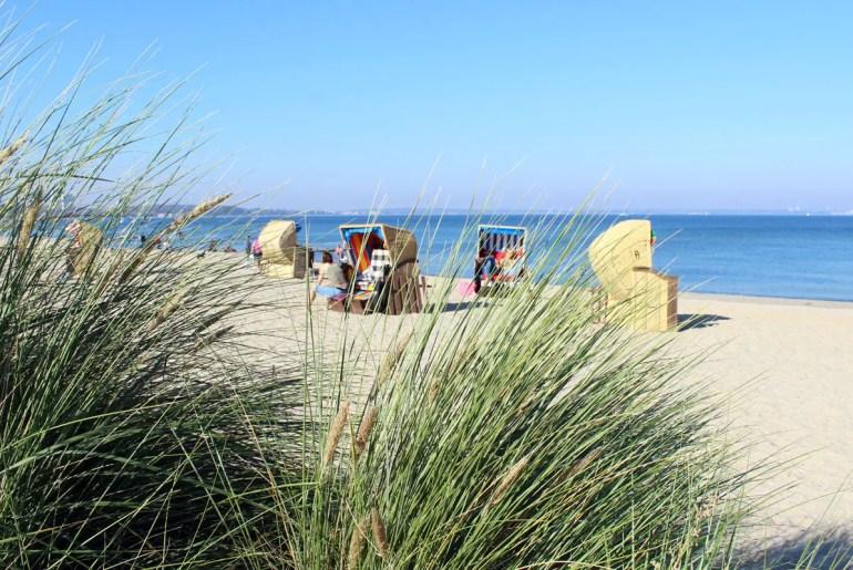 In Niendorf geht es am Strand noch ruhiger zu