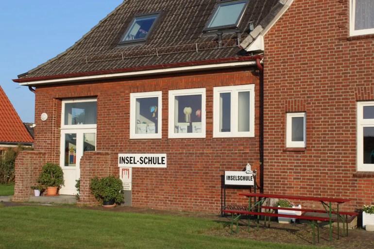 Die Inselschule auf Neuwerk ist Hamburgs kleinste Schule