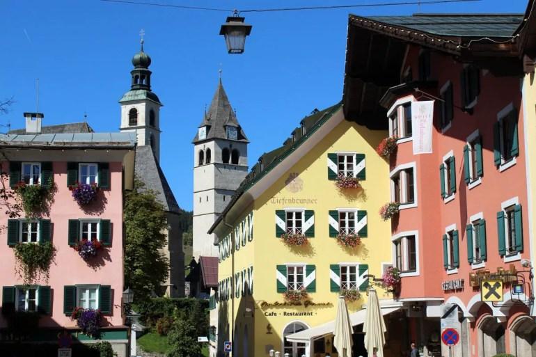 Blick aus der Altstadt zum Kirchhügel
