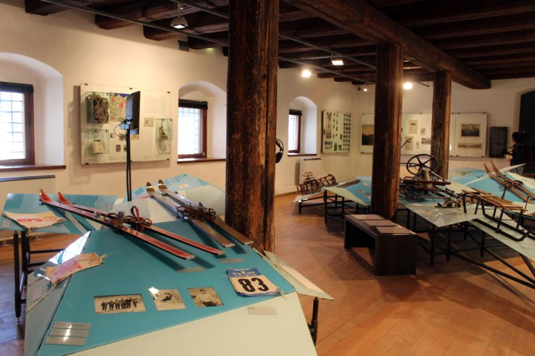 Im Kitzbüheler Museum gibt es unter anderem Einblicke in die Skigeschichte