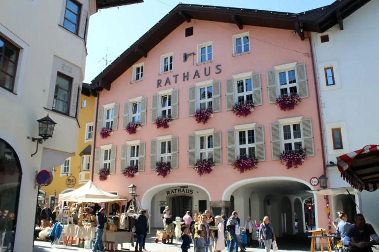 Das Rathaus von Kitzbühel