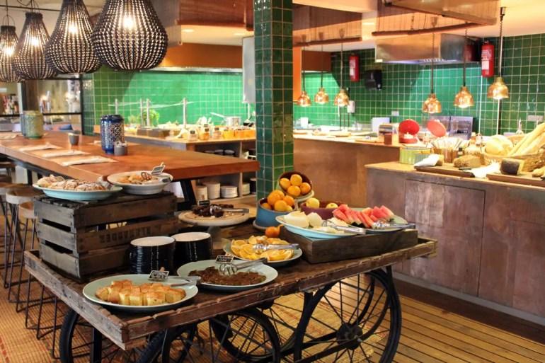Lecker und variantenreich: das Frühstück im NENI Mallorca
