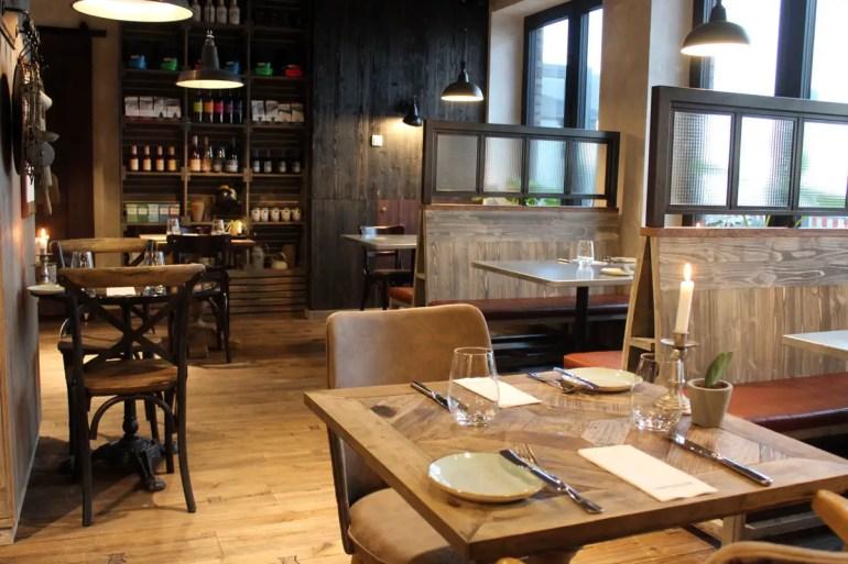 Das Restaurant Landgang bietet Frühstück, Lunch und Dinner