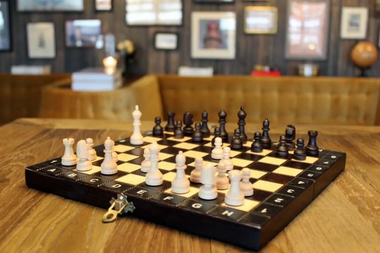 Ein Schachspiel nicht nur für graue Regentage