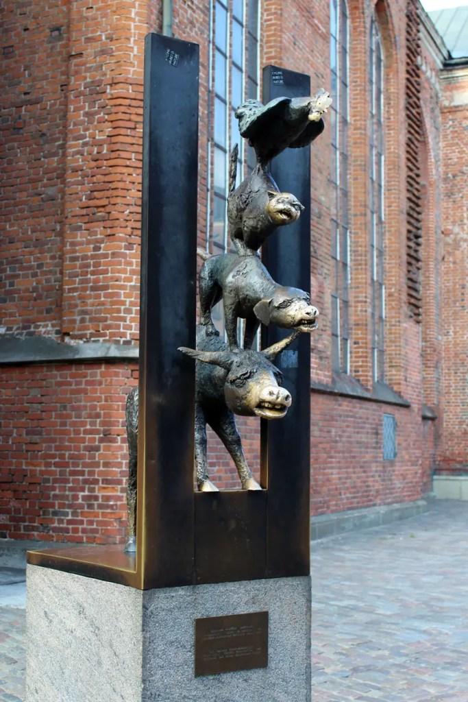 Die Bremer Stadtmusikanten in Riga