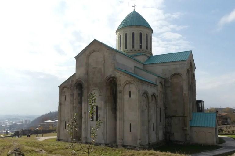 Die Bagrati Kathedrale in Kutaissi (Foto: Barbaras Spielwiese)