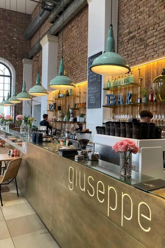 Guiseppe e Amici ist eines der Restaurans in der Alten Spinnerei