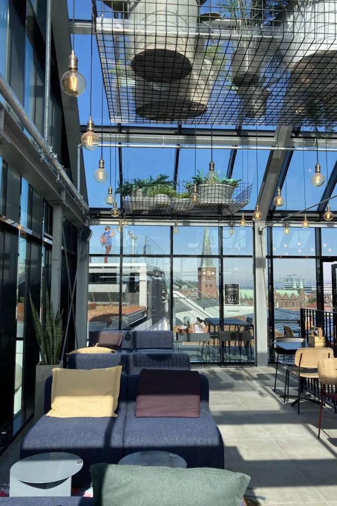 Auch drinnen ist es im Salling Rooftop ziemlich cool