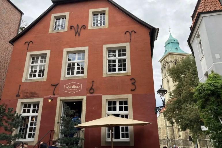 Die roestbar ist mit mehreren Cafés in Münster vertreten