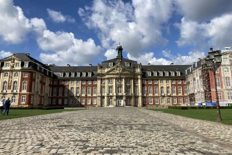 Im Münsteraner Schloss residiert heute die Uni