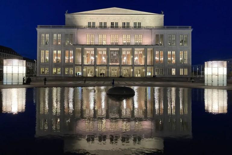 Die Oper ist eine der Sehenswürdigkeiten im Leipziger Zentrum