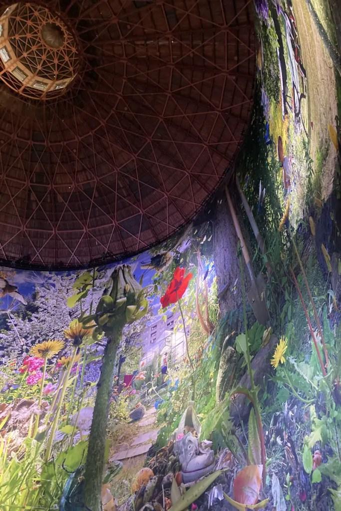 Der Künstler Yadegar Asisi zeichnet in Panometer überdimensionale Bilder
