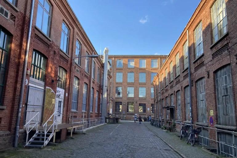 In der Leipziger Baumwollspinnerei haben heute zahlreiche Künstler ihre Ateliers und Galerien