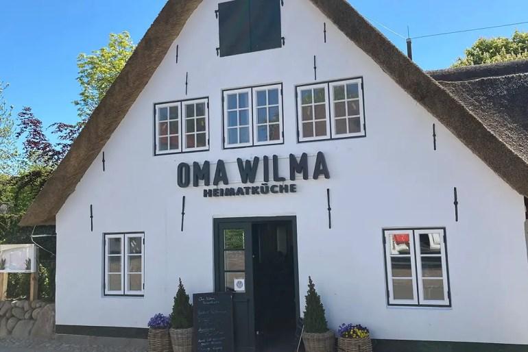 Sylter Heimatküche gibt es bei Oma Wilma in Keitum