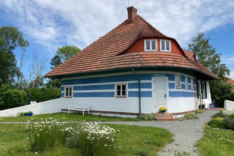 Das Asta-Nielsen-Haus in Vitte erinnert an die berühmte Stummfilm-Schauspielerin