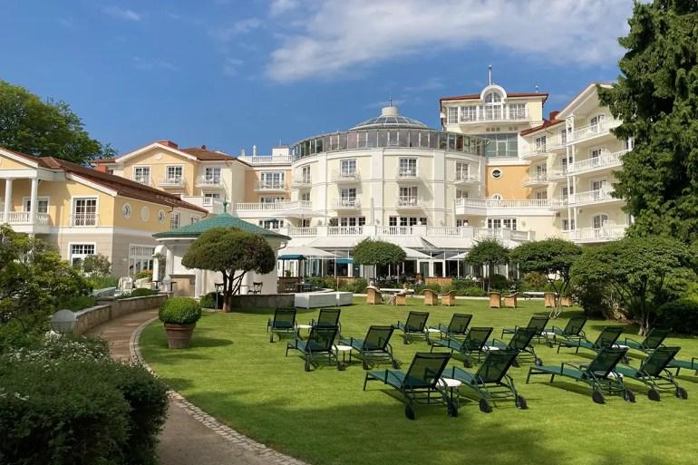 Eine der Rundum-Sorglos Unterkünfte auf Usedom: das Hotel Strandidyll in Heringsdorf