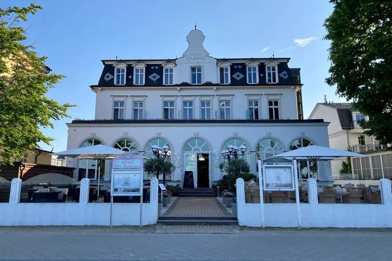 Das Strandhotel Atlantic in Bansin blickt bereits auf eine lange Geschichte