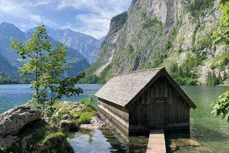 Der Obersee im Nationalpark Berchtesgaden gilt als eine der schönsten Sehenswürdigkeiten nicht nur in Oberbayern