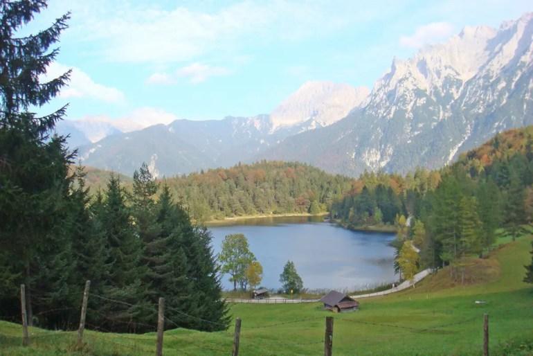 Rund um Mittenwald lädt der Karwendel zum Wandern ein
