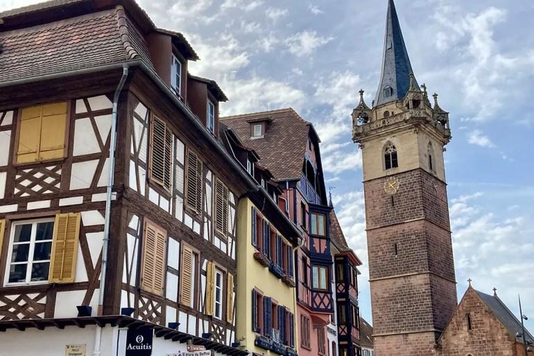 Obernai ist nur einen kurzen Ausflug von Straßburg entfernt