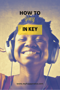 sing in key in pitch