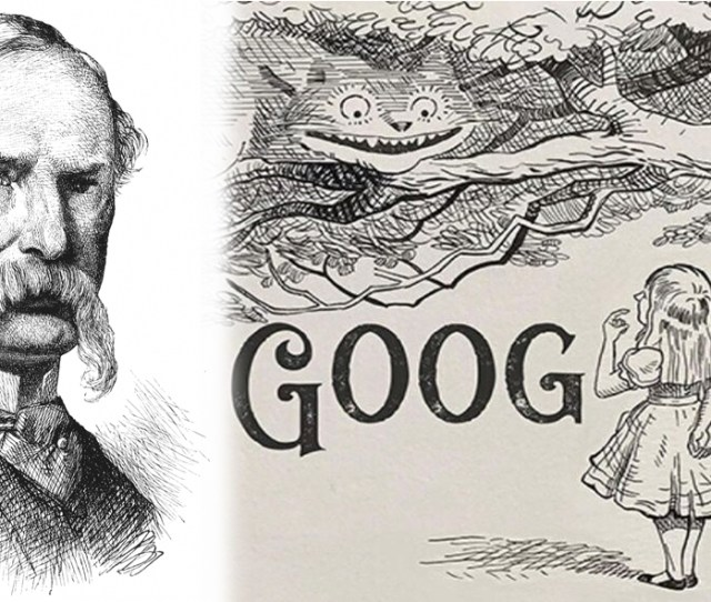Google Pays Tribute To English Illustrator Sir John Tenniel With A