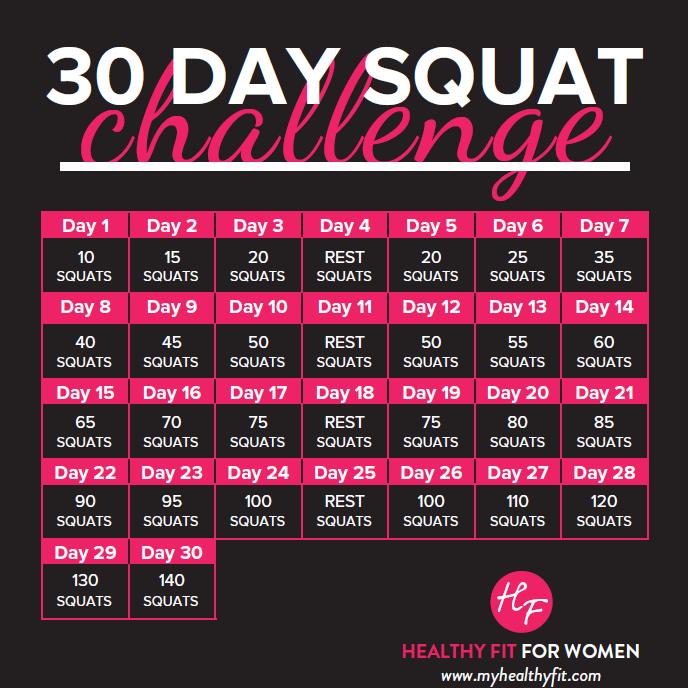 Image result for squat challenge