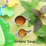 Keerai Thanni | Greens water for babies | Greens soup for babies