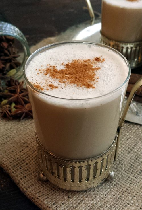 Tchai latte vegan