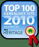Top genealogy site awards