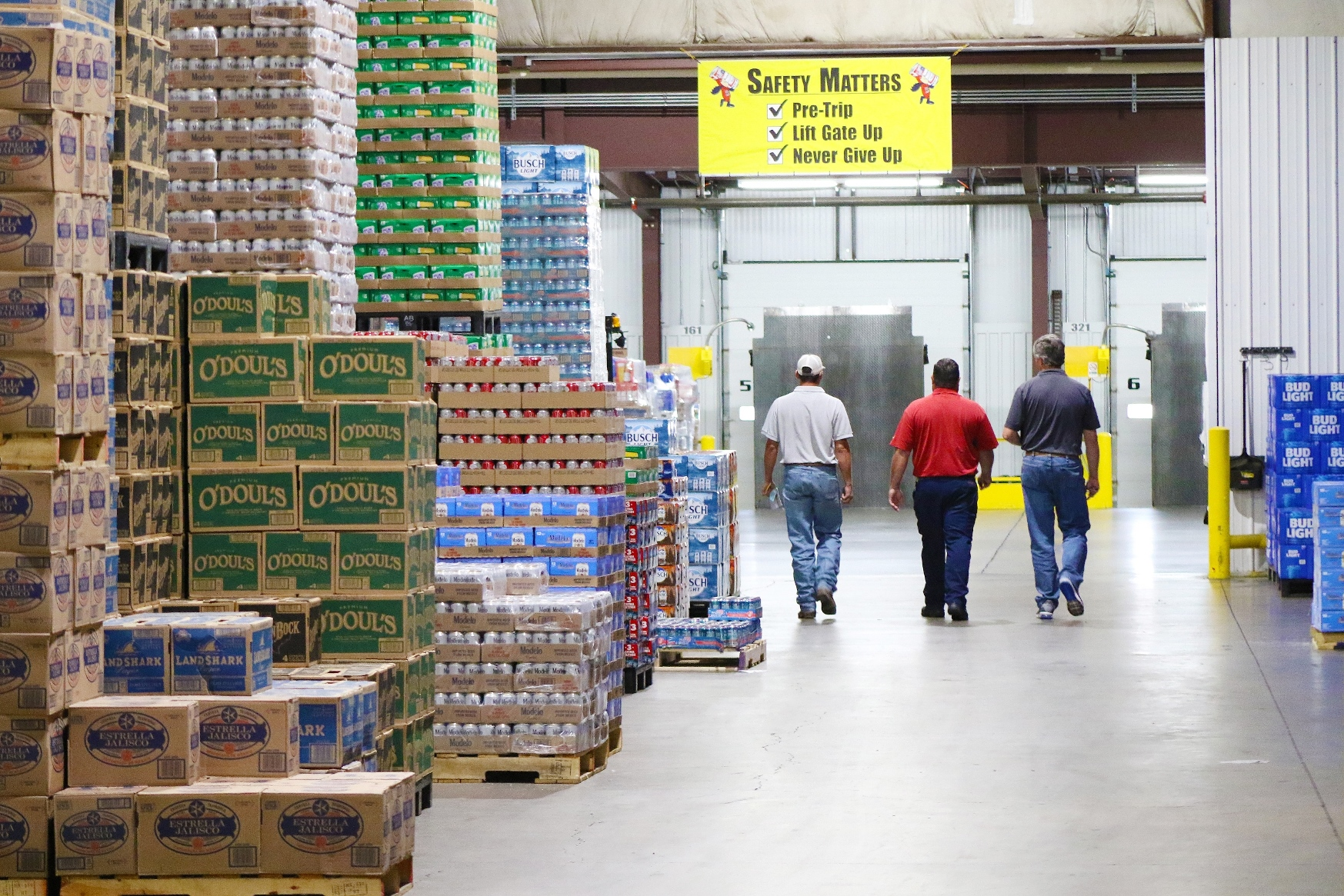 Amarillo's Budweiser Distributing Switches to LED