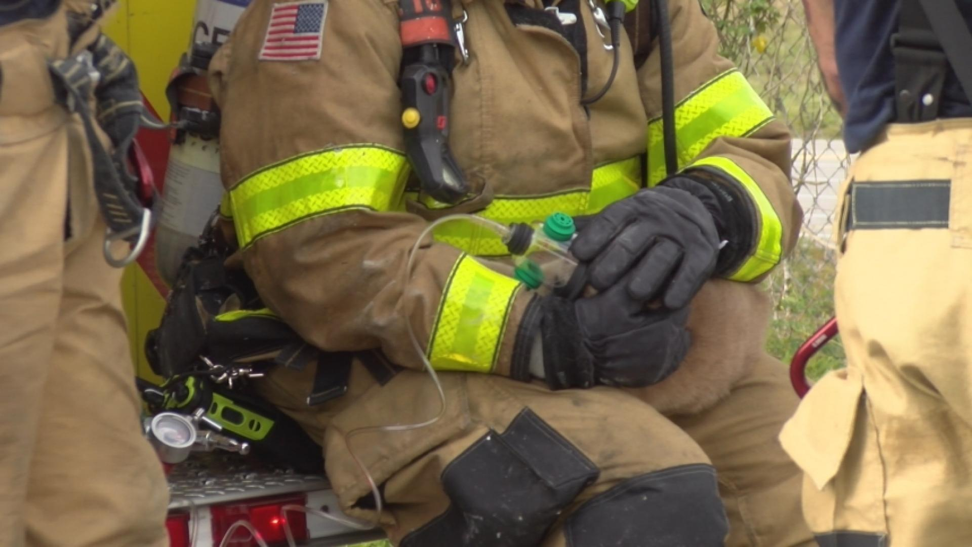 Firefighters Save Furry Friend