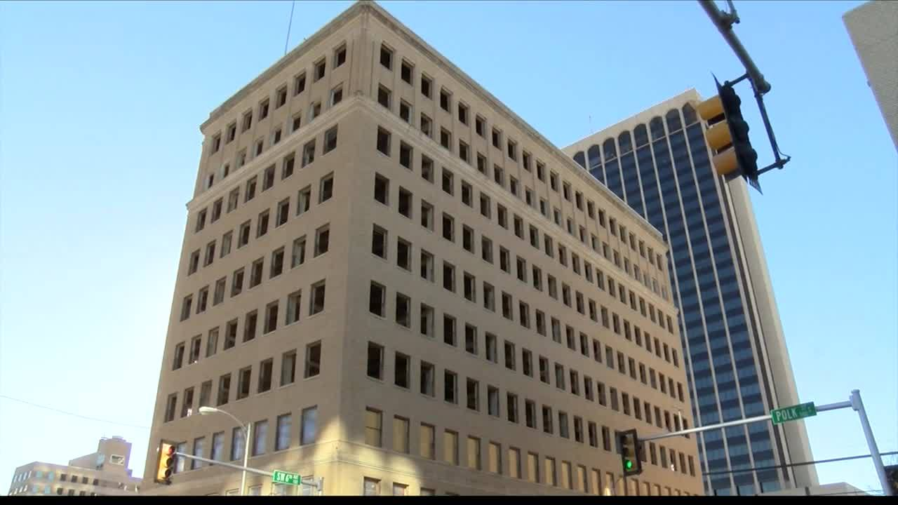 Historic Barfield Building gets a new look
