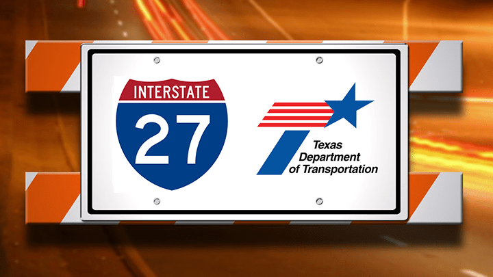 Interstate 27 Road Work, TxDOT - 720-54787063