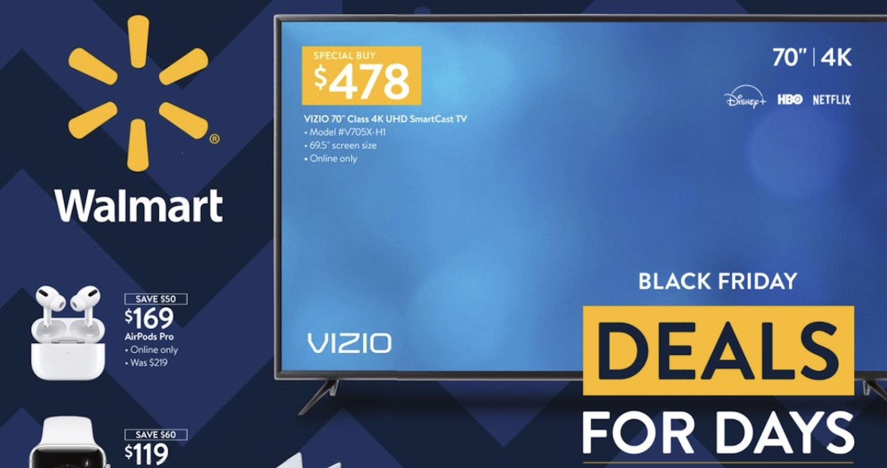 Walmart Black Friday New Deals Revealed In Final Ad Before Thanksgiving Kamr Myhighplains Com