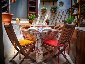 Sieglinde apartment verandah - My Holidays in Apulia