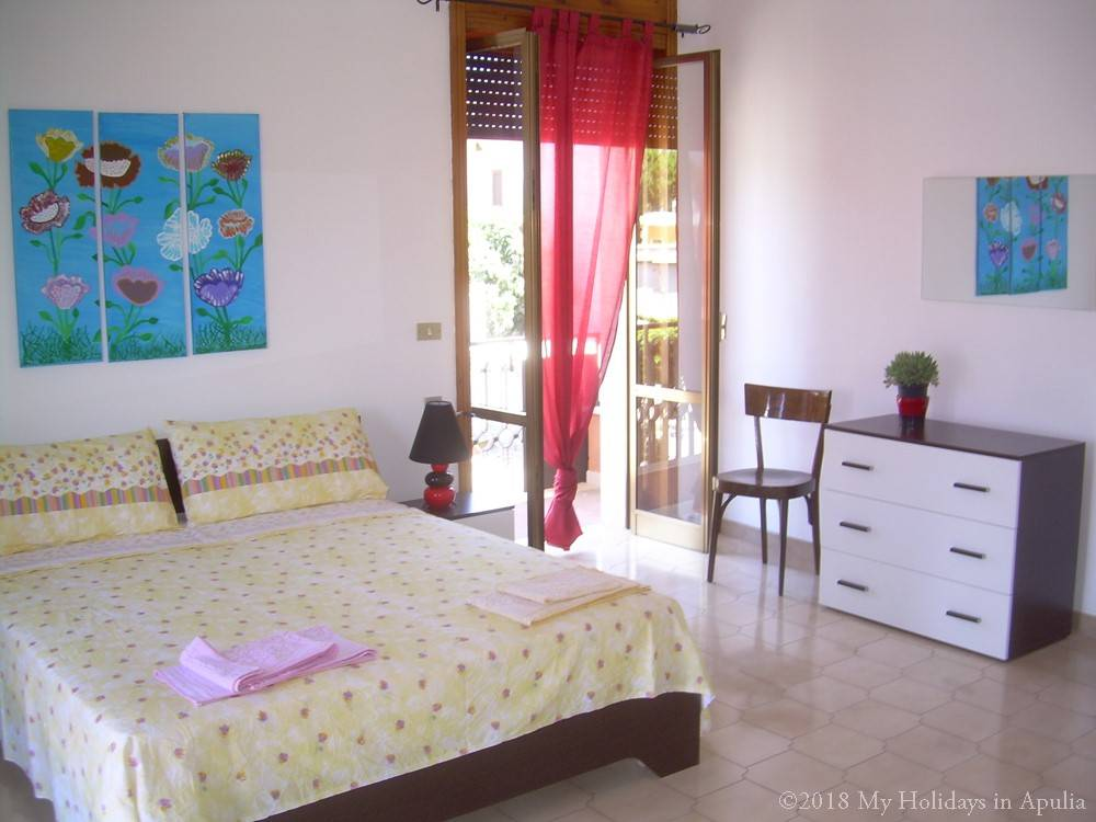 Amandine first master bedroom apartment