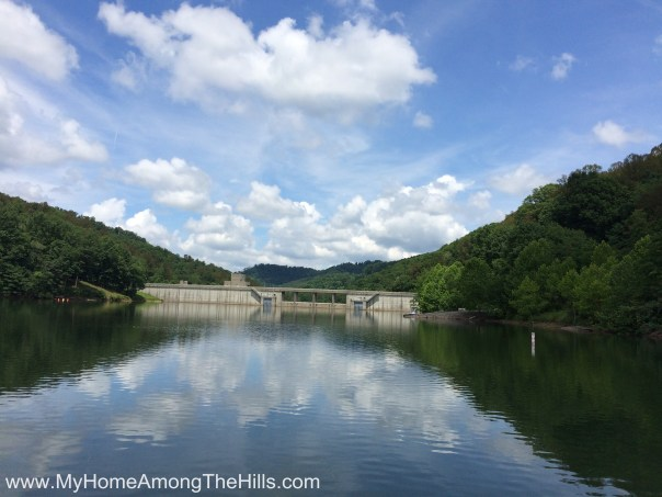 Dam at Stonewall Jackson Lake