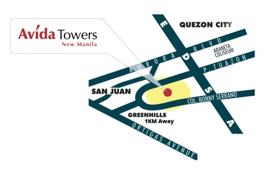 Avida Condo Units For Sale in New Manila, QC