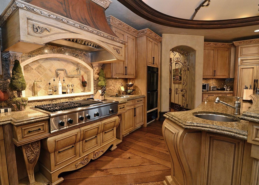 Old World Kitchen Design Pictures