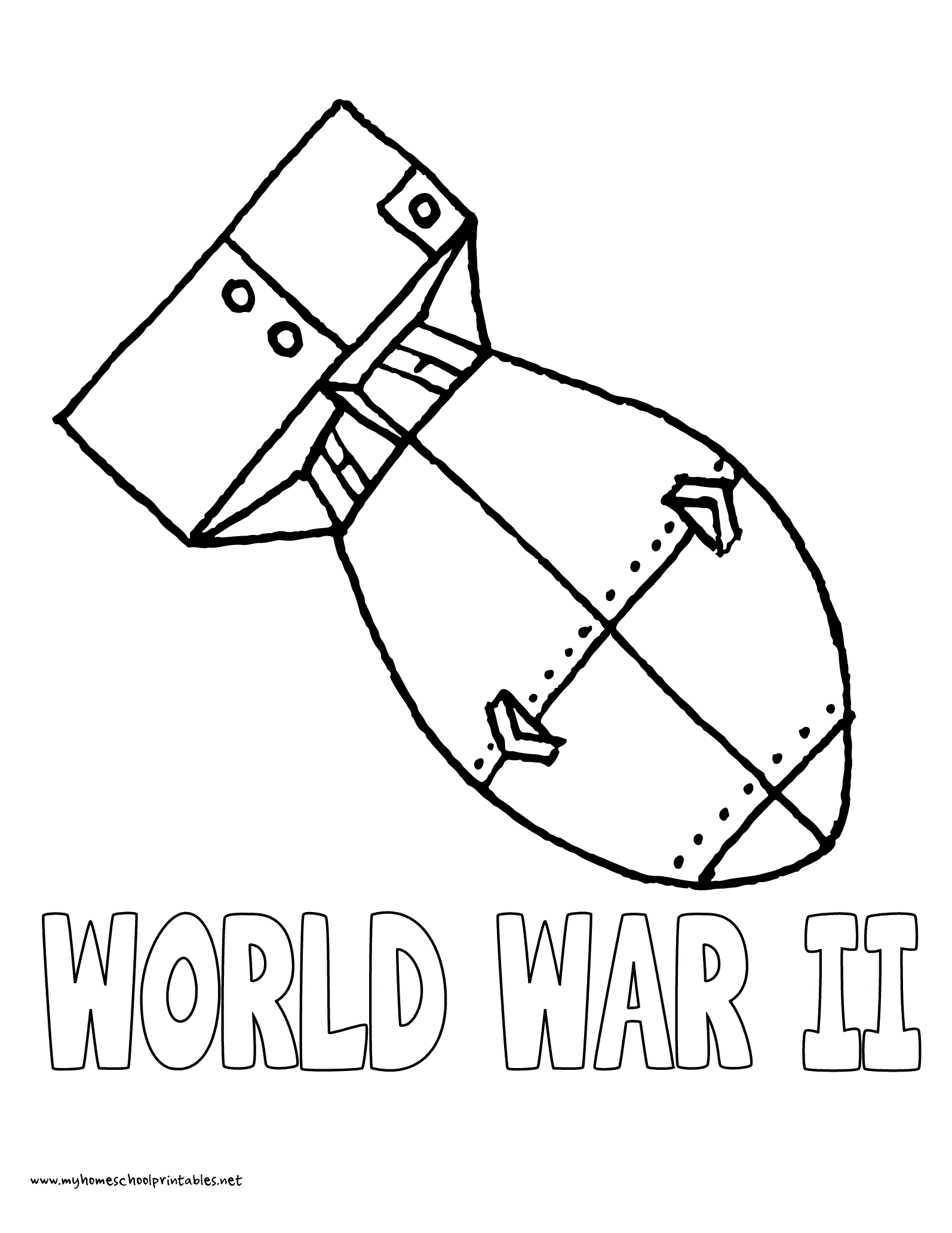 World War Ii Coloring Pages Free