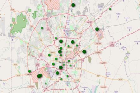 san antonio map with zip codes » Full HD MAPS Locations - Another ...