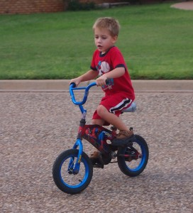 off come the training wheels