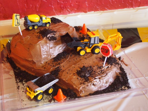 Construction Party Cake
