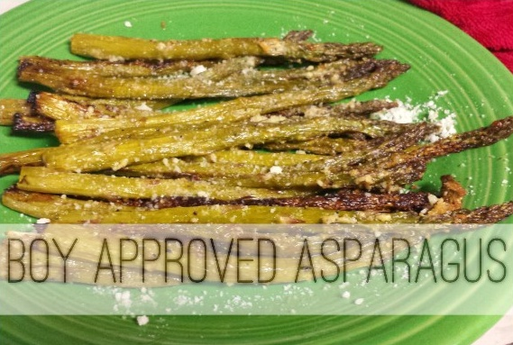 boy approved asparagus