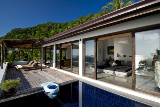 Casas Del Sol located on the tropical island of Koh Tao in Thailand