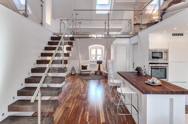 Swedish loft apartment in the Roeda Bergen 01