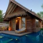 Jumeirah Vittaveli Resort in Maldives.
